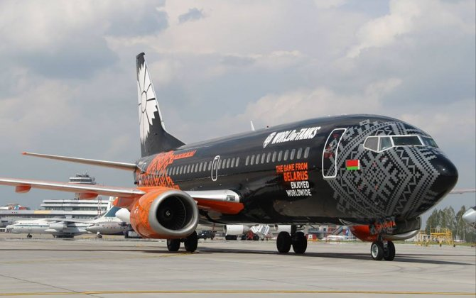 Branded World of Tanks Belavia Boeing Takes to the Skies