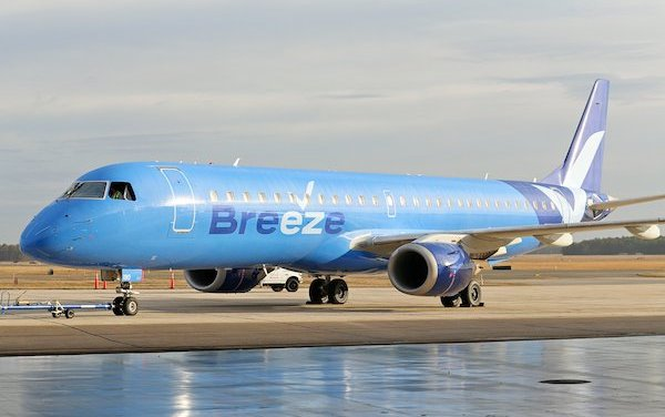 Breeze Airways – all new US airline launches with 13 Embraer jets