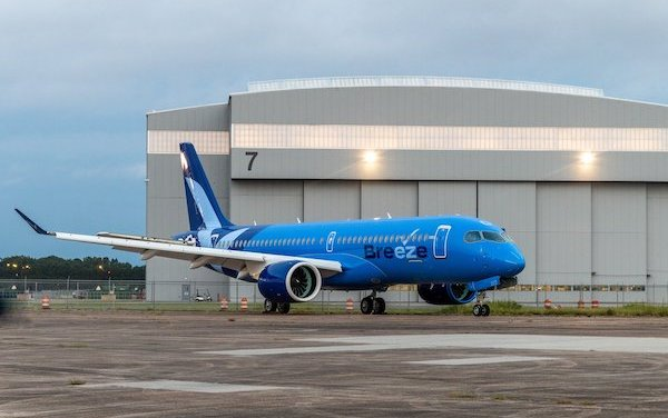 Breeze Airways - new livery revealed, order for 20 additional A220-300 confirmed