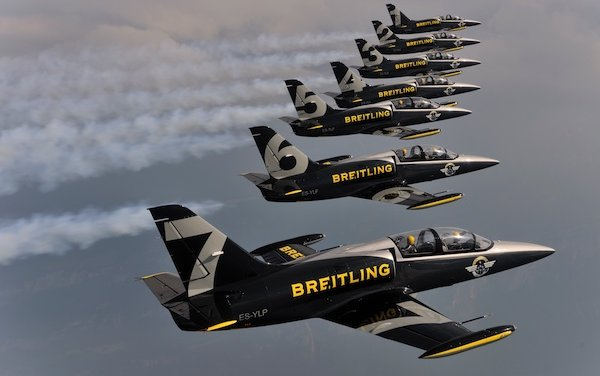 Breitling ends sponsorship contract with Apache Aviation
