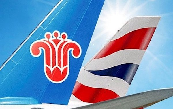British Airways and China Southern Airlines launch joint business