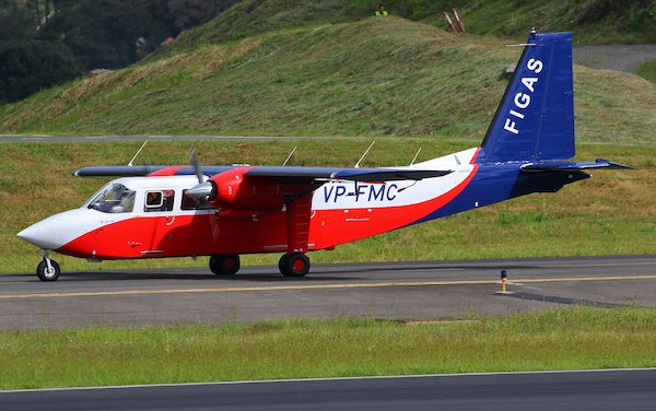 Britten-Norman delivered first of two new Islander to Falkland Islands