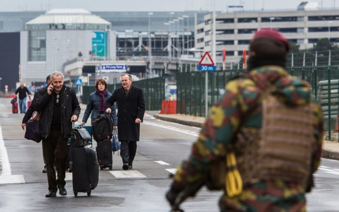 Brussels airport suspends flights through the weekend