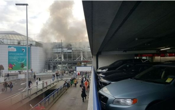 Brussels Zaventem airport blasts cause casualties