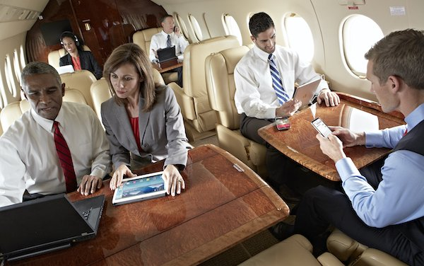 Business Aviation first Unlimited Streaming and Data Wi-Fi plan - Gogo