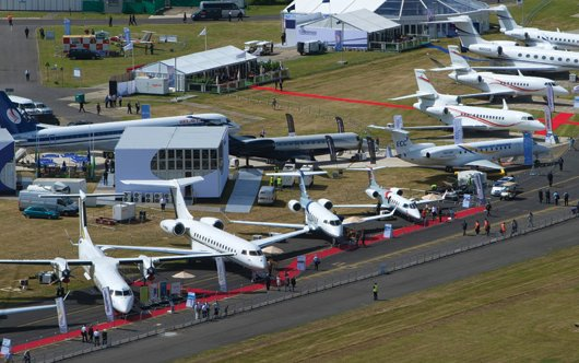 Business aviation prepares for busy Farnborough