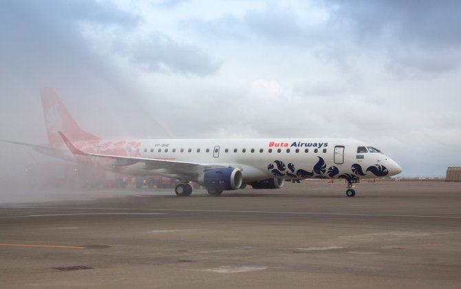 Buta Airways replenished its fleet with new Embraer E-190