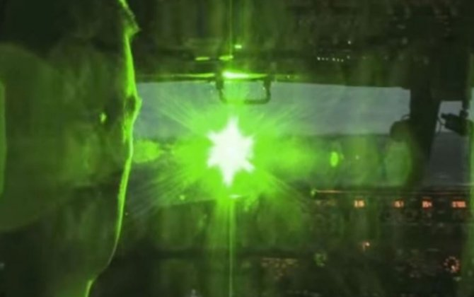 Call for lasers to be classed as offensive weapons amid thousands of incidents
