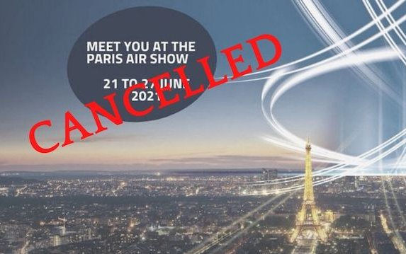 Cancellation of the 2021 edition of the Paris Air Show