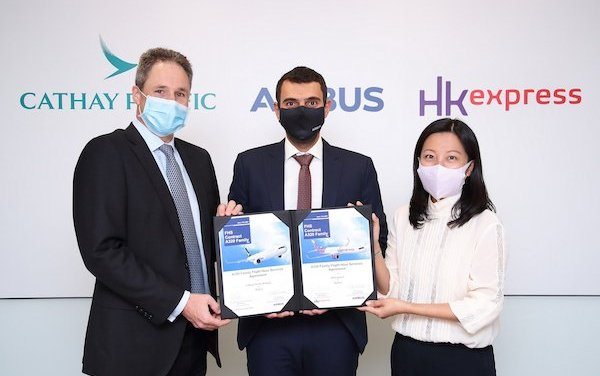 Cathay Pacific Airways and HK Express select Airbus Flight Hour Services for A320 fleets
