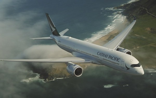 Cathay Pacific welcomes the Airbus A350-900 & introduces Premium Economy to Dubai
