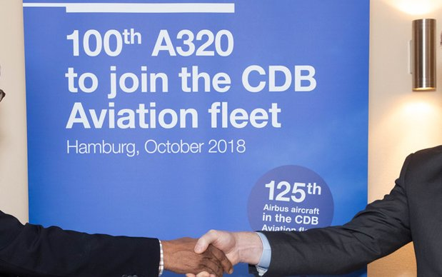 CDB Aviation Takes Delivery of Its 100th A320 Family Aircraft from Airbus