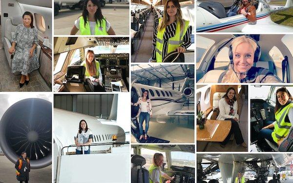 Celebrating women in aviation and redressing gender imbalance on International Women's Day