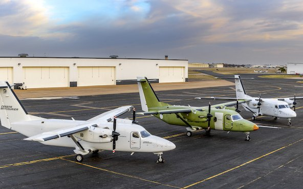 Certification flight test begins for Cessna SkyCourier