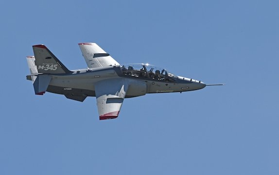 Certified and ready for the global market: M-345 - Leonardo new jet trainer