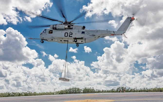 CH-53K King Stallion Passes Initial Operational Testing