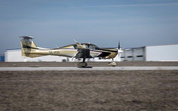 Changes and new engine of Diamond Aircraft DA50 program