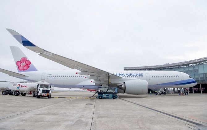 China Airlines takes delivery of A350 XWB powered with biofuel mix