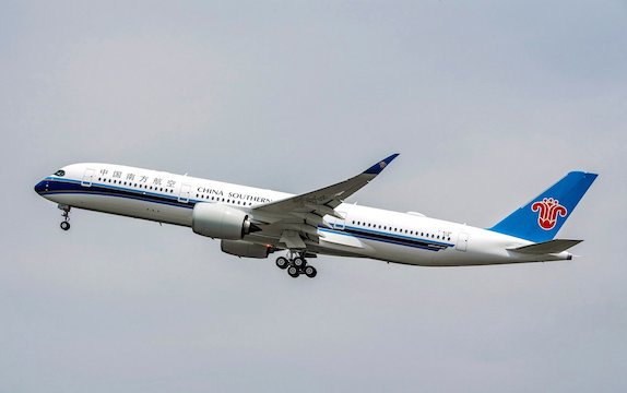 China Southern Airlines choses AFI KLM E&M expertise for A350s