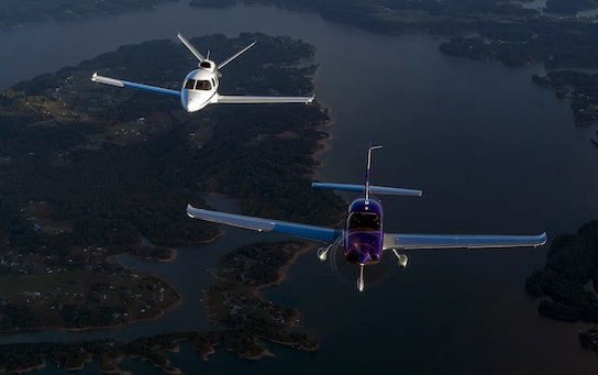 Cirrus Aircraft keeps top positions in high-performance piston and jet aircraft markets