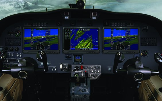 Citation CJ3 makes first flight with Rockwell Collins' Pro Line Fusion® avionics upgrade