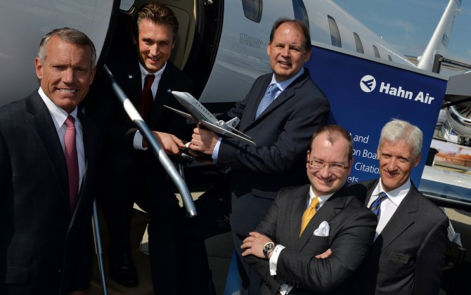Citation Sovereign to soon join Hahn Air's all-Citation fleet