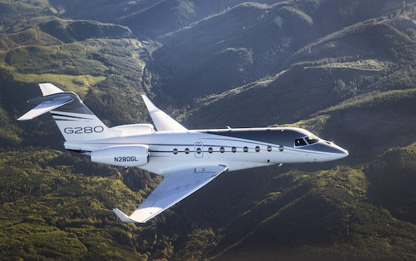 City-Pair Record on Renewable Fuel by Gulfstream G280