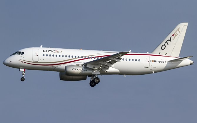 CityJet Takes Delivery of the Third Sukhoi Superjet 100