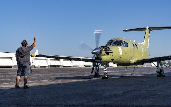 Closer to the first flight - Beechcraft Denali successful ground engine runs