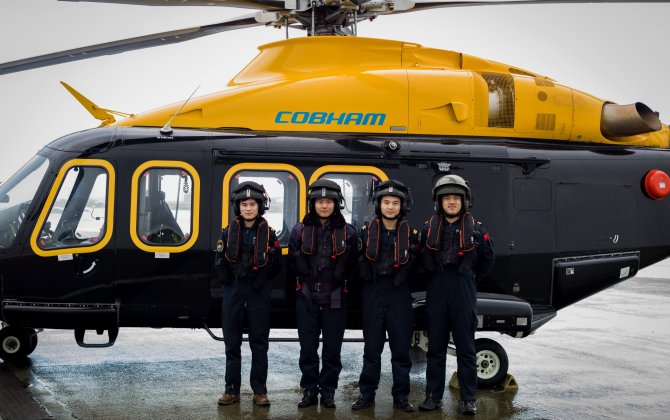 Cobham Helicopter Academy Announces Launch Customer