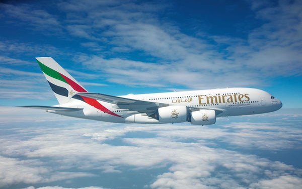 Codeshare partnership between Emirates and LATAM Airlines Brazil on 17 Brazilian routes