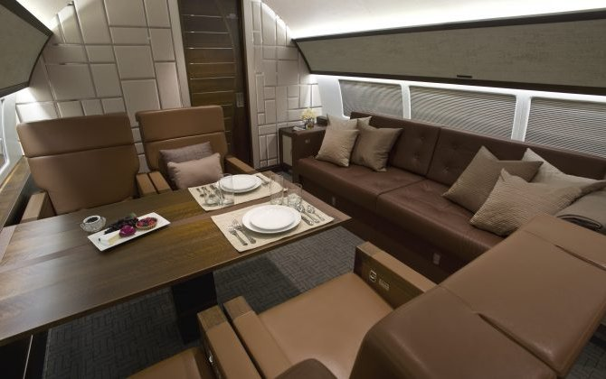 "COMLUX Delivers the First EASA-Certified Cabin for a Sukhoi Business Jet ""SBJ"""