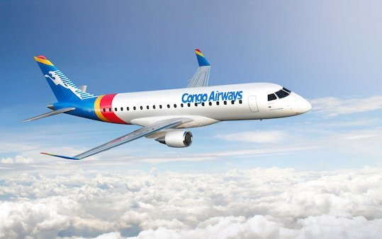 Congo Airways orders  Two Embraer E175 Jets
