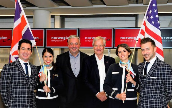 Congratulation - Five Years of Norwegian Low-cost Long-haul Service to London Gatwick