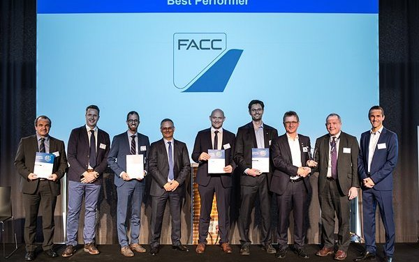 Congratulations - for the second time FACC is Best Performer for Airbus