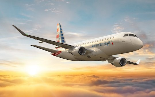 Contract for 20 E175 Jets between Embraer and SkyWest