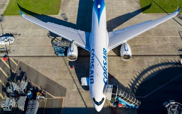 Corsair took delivery of its first A330neo
