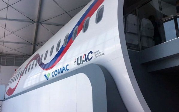 CR929 Program presented to air companies by UAC and COMAC