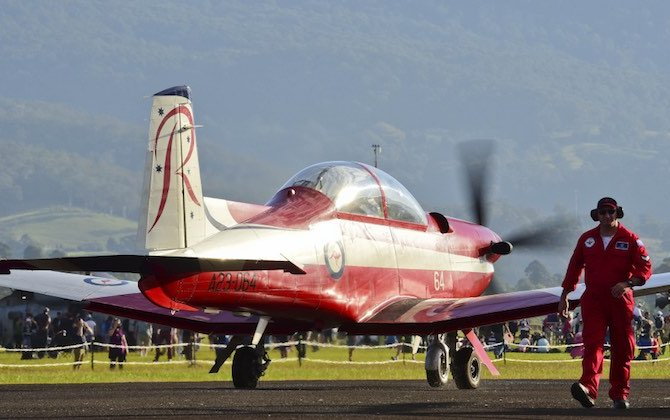 Cracking found in RAAF PC-9s