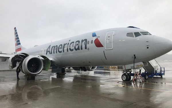DAE delivers first of 18 Boeing 737 MAX 8 aircraft to American Airlines