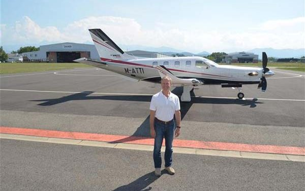 Daher delivers first TBM 930 very fast turboprop aircraft to ba based in United Kingdom