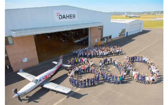 Daher marks aviation milestone with rollout of 800th TBM aircraft
