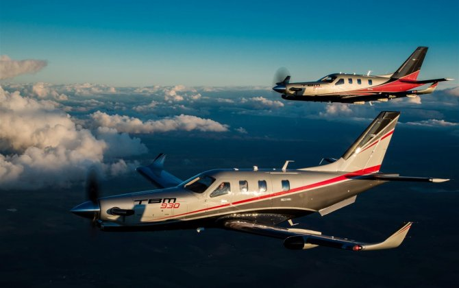 Daher presents its new range of TBM aircraft: the TBM 900 is joined by the TBM 930