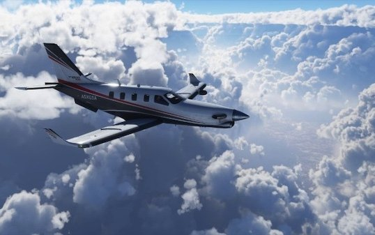 Daher TBM 930 spreads its wings in the Microsoft Flight Simulator latest version