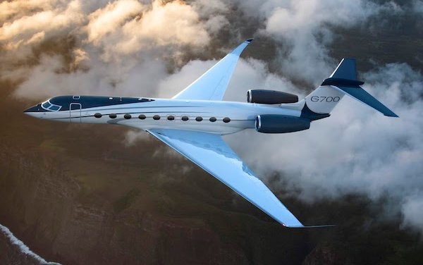 Daher winglets took flight with the new Gulfstream G700