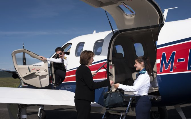 Daher's TBM air taxi takes center stage at France Air Expo Lyon