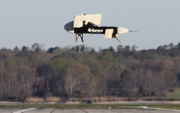 DARPA VTOL X-plane takes flight in miniature