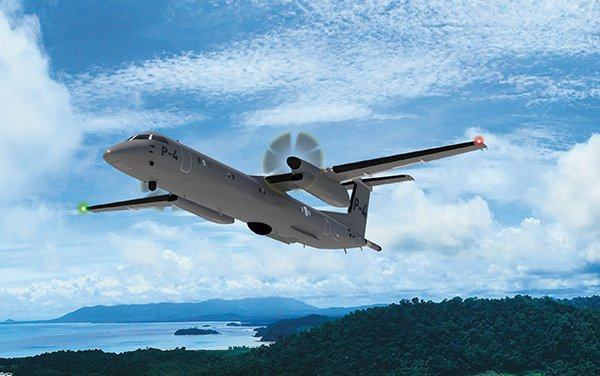 Dash 8 P-4 Special Mission Aircraft - MOU between PAL Aerospace and De Havilland Canada