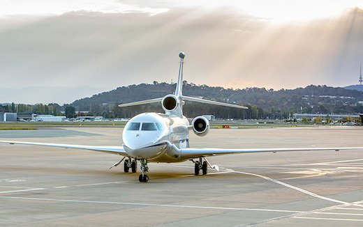 Dassault Aviation delivered First Australia Falcon 7X VIP Aircraft