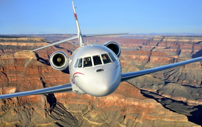 Dassault Combined Vision System certified on Falcon 2000S/LXS